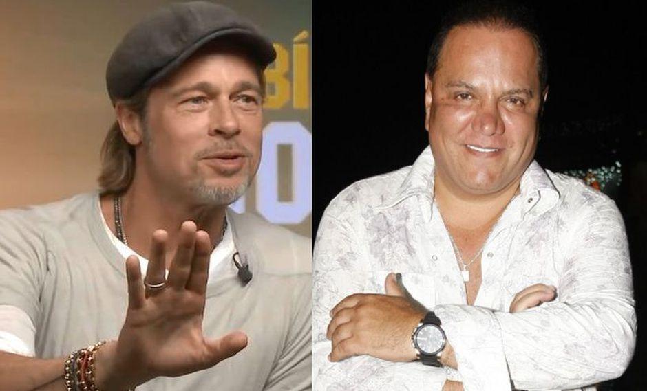 Mauricio Diez Canseco alista encuentro con Brad Pitt (Foto: Facebook)