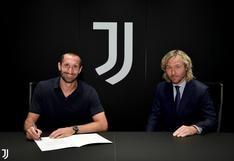 Giorgio Chiellini renovó por dos temporadas con la Juventus