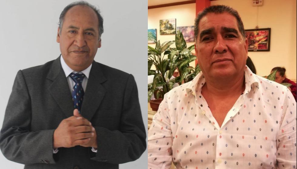 Juan Vargas y José Luis Hurtado. (Facebook)