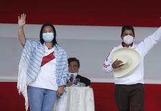 Cambia la tendencia: A Keiko Fujimori y Pedro Castillo los separa cinco puntos, según encuesta de Datum