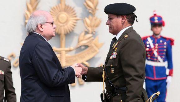 Ronald Hurtado Jiménez es el nuevo comandante general del Ejército. (Andina)