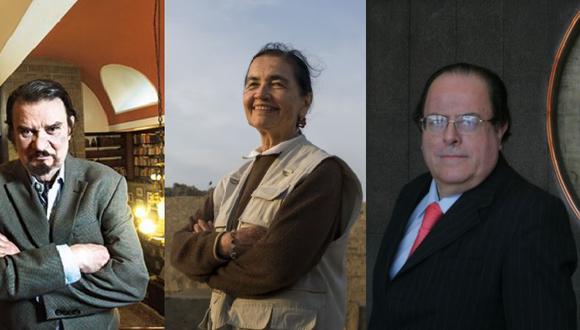 Ruth Shady, Julio Velarde y Fernando de Trazegnies reciben  un reconocimiento a su trayectoria profesional  en el marco del Bicentenario de parte de la Fundación  M. J. Bustamante de la Fuente.