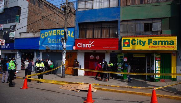 Freddy Rogger Calmarcanqui Coronel (35), fue asesinado de cinco balazos en Ste.(Foto:  Hugo Curotto / @photo.gec)
