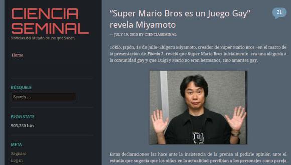 La noticia falsa que engañó a los medios españoles. (cienciaseminal.com)