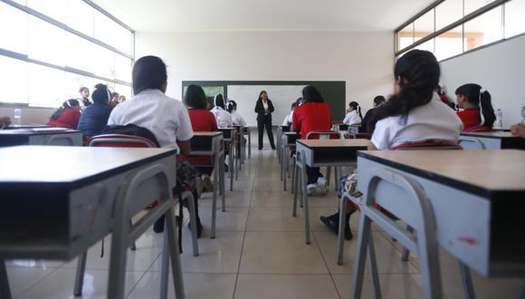 La Libertad: clases presenciales no se reanudarán por falta de bioseguridad para alumnos y docentes (Foto referencial: GEC)