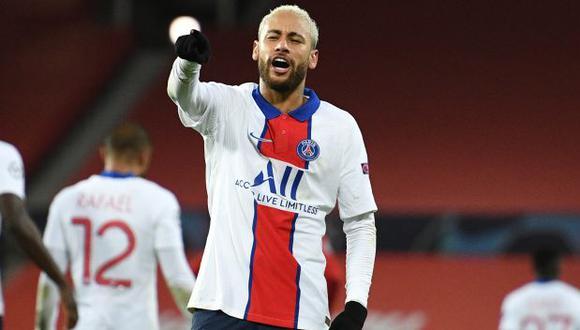 Neymar tiene 7 partidos y 3 goles en la presente temporada de la Ligue 1. (Foto: AFP)