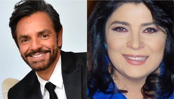 Eugenio Derbez explica por qué hace comentarios y bromas sobre  Victoria Ruffo. (Foto: @ederbez/@victoriaruffo)