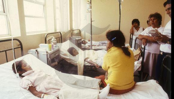 El cólera en el Perú (Foto del archivo histórica de El Comercio)