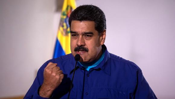 """""""Sus tácticas son copiadas directamente de los innumerables líderes autoritarios anteriores a él"""", señala la Casa Blanca sobre Nicolás Maduro. (Foto: EFE)"""