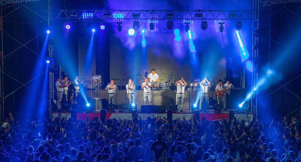 Grupo 5 en Europa para cantar a peruanos y europeos. (Difusión)