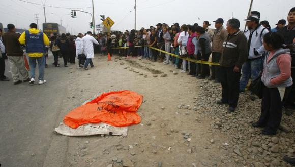 Chofer de El Chosicano enlutó a dos familias en la Carretera Central. (USI)