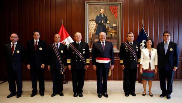 Ministro Pedro Cateriano participó en la ceremonia. (Difusión)