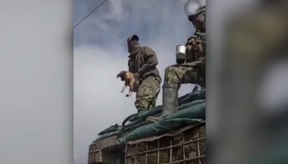 Indignante hecho será investigado por el Ejército de Colombia.