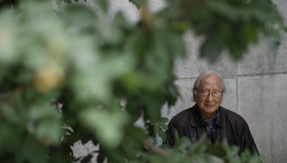 Venancio Shinki en el 2014. Pintor peruano partió a la eternidad hace un año.
