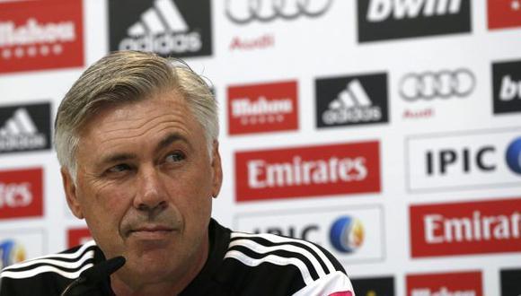 Carlo Ancelotti espera conseguir su primera victoria del año contra el Espanyol. (EFE)