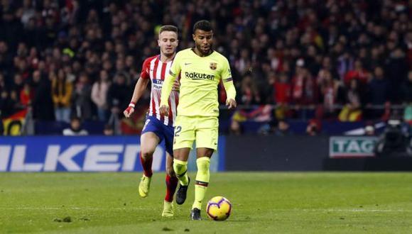 Rafinha jugó todo el segundo tiempo del duelo ante Atlético de Madrid. (Foto: Barcelona)