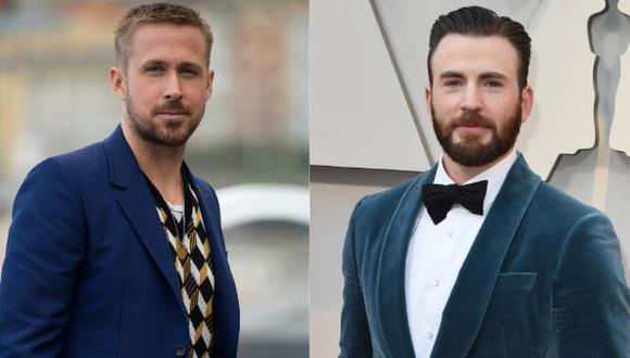 Ryan Gosling y Chris Evans protagonizarán la película más cara de Netflix (Foto: Ander Gillenea/ AFP   Mark Ralston / AFP)