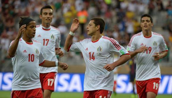 Hernández fue la figura de la cancha. (AFP)