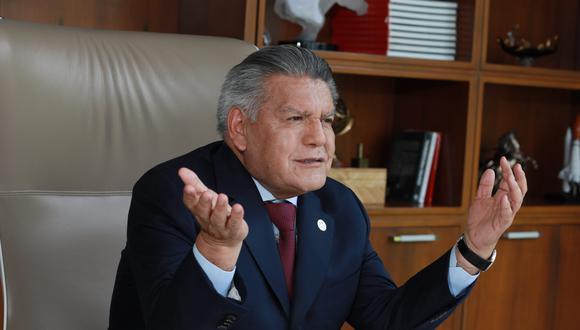 Acuña indicó jamás mintió con relación a la postura que tomaría su grupo político con relación a la vacancia, pues le comunicó al propio exmandatario que su grupo votaría en libertad  (Foto: Juan Ponce / GEC)