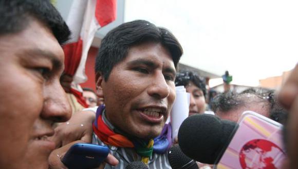 Aduviri Calisaya dice que jamás ordenó a los aimaras incendiar instituciones estatales. (Perú21)