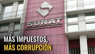 Más impuestos, más corrupción