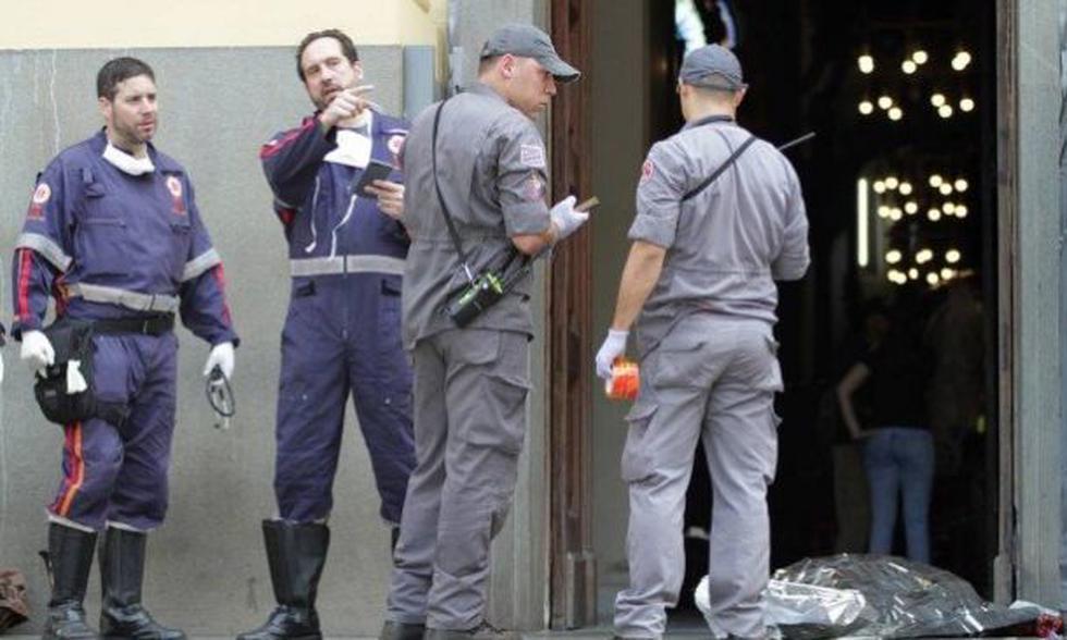 Hombre mata a cinco personas y se suicida en Brasil. (Foto captura de O globo)