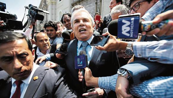 Castañeda tiene pendiente someterse a un interrogatorio en la Fiscalía. (GEC)