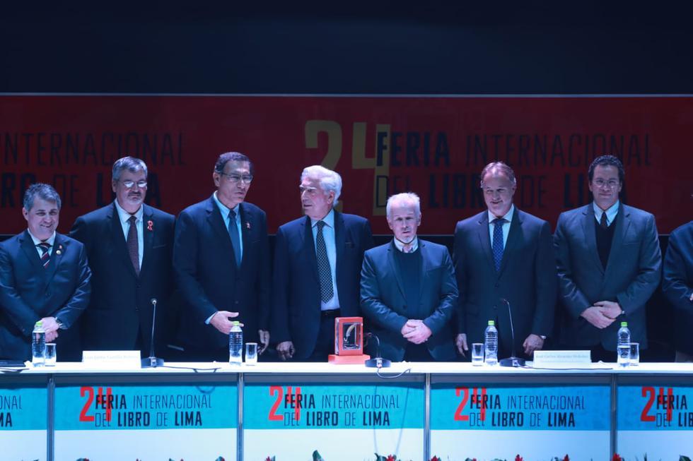 Organizadores de la FIL Lima 2019 ofrecen disculpas tras no tener participación de mujeres en la mesa inaugural (Foto:@filibro.lima)