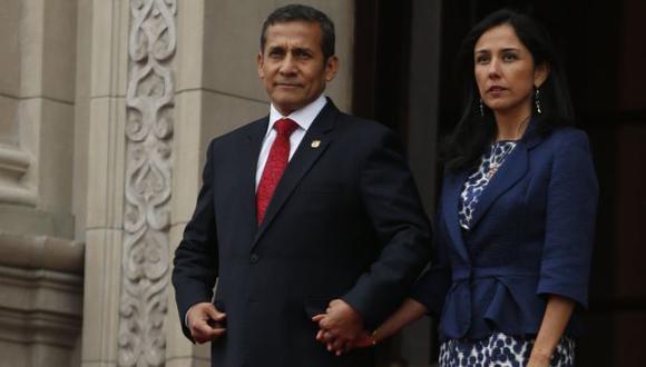 Al 100%: Ollanta Humala respalda acciones de su esposa, Nadine Heredia, ante comisión Belaunde Lossio. (Perú21)