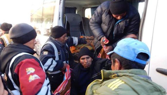 Nuevo enfrentamiento entre pobladores y policías en La Rinconada acabó con un muerto. (Samuel Vilca/Referencial)
