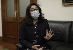 """Violeta Bermúdez: """"Espero que todo este ruido no retrase la firma con Sinopharm para 2 millones de vacunas en marzo"""""""