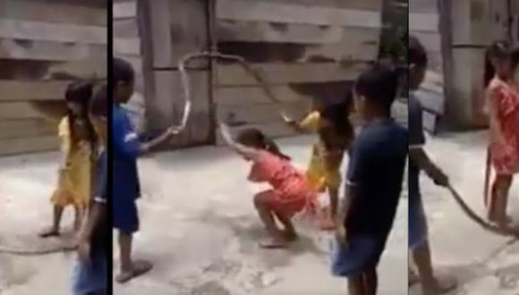 El sorprendente hecho ocurrió en una comunidad de Vietnam. (Foto: Captura)