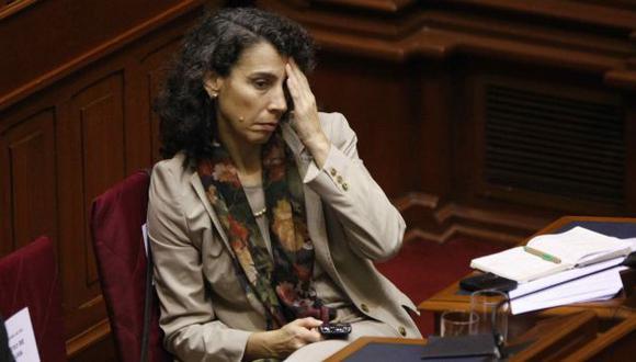 """A CONFESIÓN DE PARTE. La ministra Trivelli admitió que tenía """"dudas"""" sobre el sistema del programa. (Luis Gonzáles)"""
