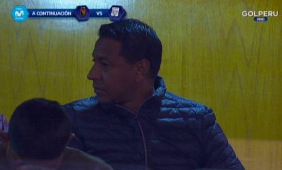 Parte del comando técnico de la selección peruana está en el partido Alianza Lima vs. Melgar. (Captura: Gol Perú)