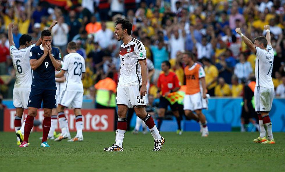 Alemania ya está en semifinales. (AFP)