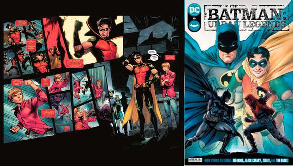 La historia en Batman: Urban Legends se centra en una revelación de Robin.