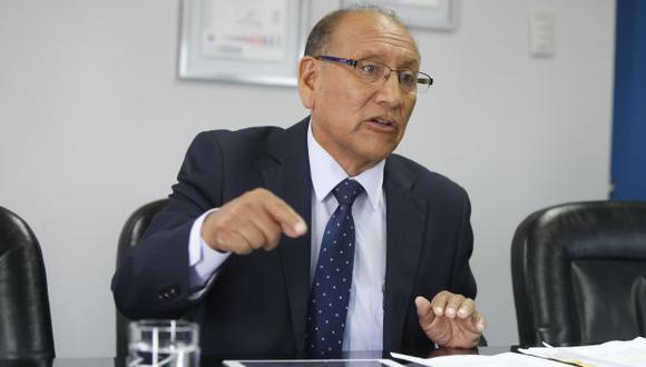 Mariano Cucho, jefe de la ONPE, saludó aprobación de normas que elevan requisitos para revocar a una autoridad. (Perú21)