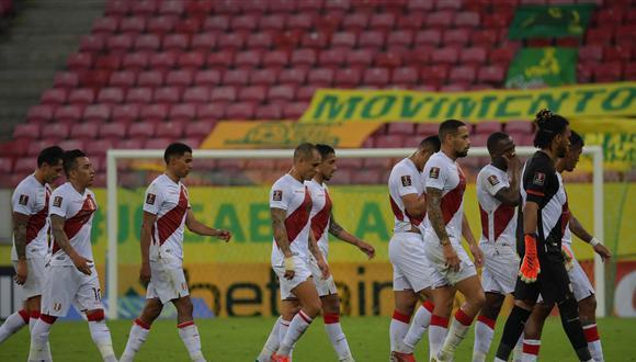 La selección peruana jugará tres partidos en octubre por las Eliminatorias. (Foto: AFP)