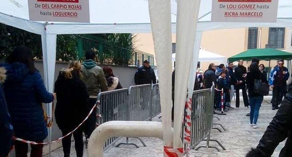 En Italia se instalaron 312 mesas de votaciones. (Foto: Cancillería del Perú)