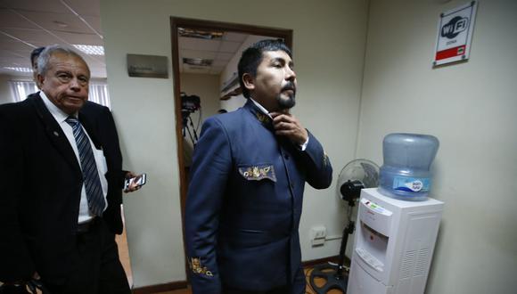 Elmer Cáceres afirmó que no puede haber diálogo con el Ejecutivo si es que no se suspende la licencia de construcción a Southern Copper. (Foto: Mario Zapata / GEC)