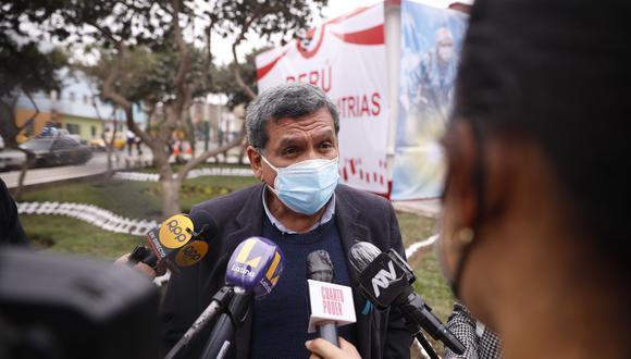 Hernando Cevallos, asesor en temas de salud del electo presidente Pedro Castillo. (Foto:GE)