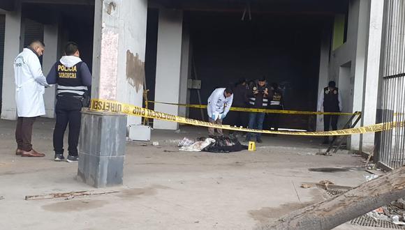 Encuentran dos cadáveres descuartizados en el exterminal de Fiori. (José Caja/GEC)