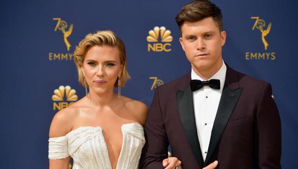 Scarlett Johansson y la romántica declaración de amor con la que sorprendió a su prometido en vivo. (Foto: AFP)