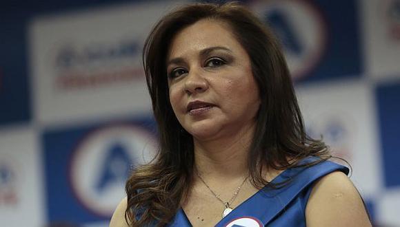 Marisol Espinoza quedó encargada del despacho presidencial. (Nancy Dueñas/Perú21)