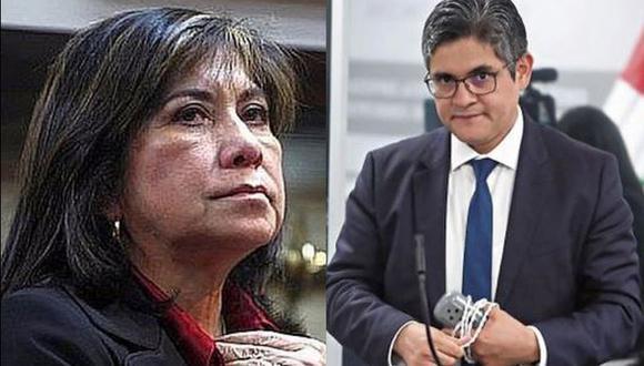 Congresista fujimorista indignada con medida en contra de la lideresa de Fuerza Popular. (Composición)