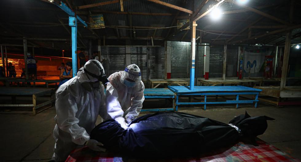 El silencioso trabajo de la Brigada Humanitaria que recoge cadáveres COVID-19 en Loreto [FOTOS Y VIDEO]