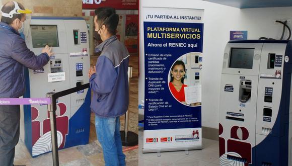 Las personas que hagan uso de la Plataforma Virtual Multiservicios podrán recibir las indicaciones de un orientador. (Foto: Reniec)