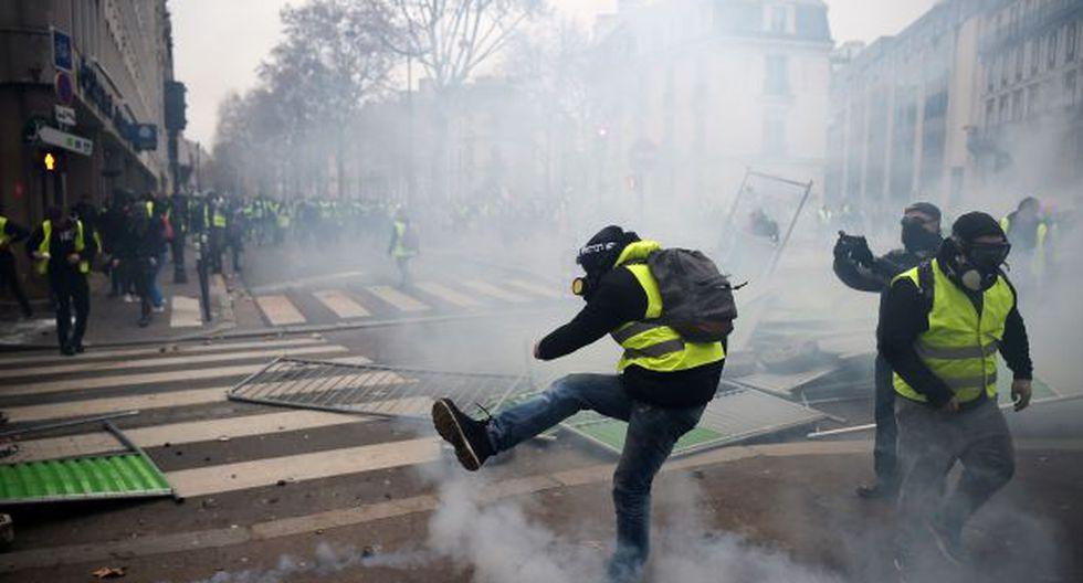 Ante el riesgo de enfrentamientos, otros grupos han preferido manifestarse bloqueando el tráfico en carreteras de diversos puntos del país y los alrededores de la capital. (Foto: AFP)
