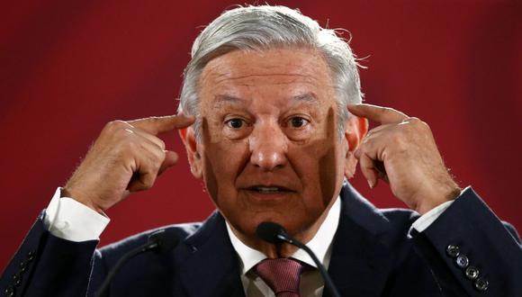 AMLO también presumió el descenso del 95% del robo de combustible en México gracias al combate frontal impulsado desde el gobierno. (Foto: EFE)