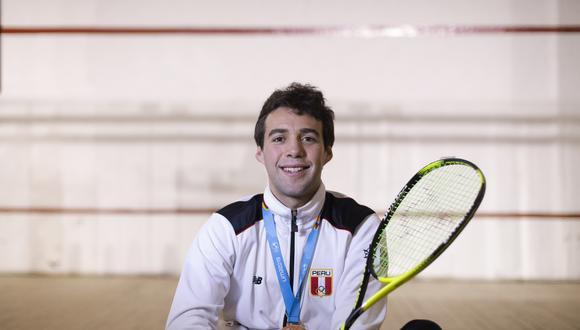 Conversamos con el deportista y medallista en Lima 2019, Alonso Escudero. (Perú21/ Renzo Salazar)